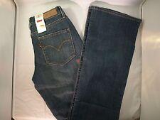 New Women's Levi's Bold Curve ID Misses 2 Medium 0003 Blue Classic Fit 0613