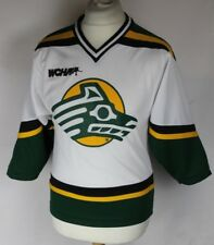 Vintage Alaska Anchorage Seawolves Ice Hockey Jersey K1 Youths Medium Rare