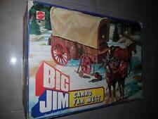 Big Jim carro carovana Far West codice 94 83 Mattel anno 1977 toys vintage 70s