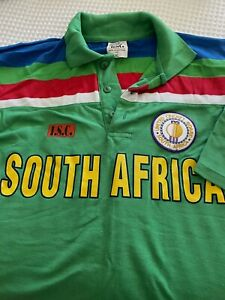 Polo Shirt South African Cricket One Day World Cup 1992 XL Short Sleeve