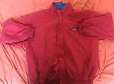 Rare 90s Vintage FUBU Jacket Windbreaker Men RED Flag-Themed  Size XXXL
