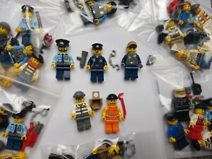 LEGO Police & Crooks Minifigures Bundle - Select Your 5 Character Pack