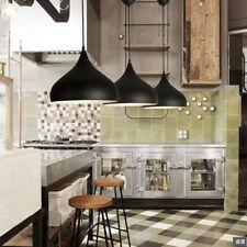 3X Kitchen Pendant Lighting Bar Lamp Modern Ceiling Lights Black Pendant Light