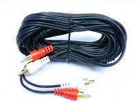 25'FT Audio GOLD RCA Male Stereo Dubbing Cable Receiver