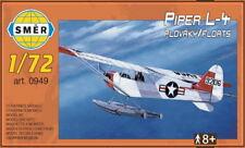 NEW! Piper L-4 Cub Floatplane in USAF (1/72 model kit, Smer 0949)