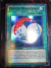 YU-GI-OH! UR PARRALEL WORLD FUSION LC02-EN011 NEAR MINT NEUVE LIMITED EDITION