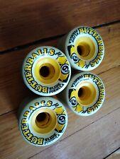 Sector 9 Butterball Skateboard Longboard Wheels 65mm 80a