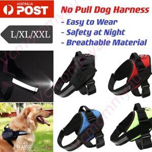 Adjustable No-pull Dog Harness Reflective Outdoor Adventure Pet Vest XXL