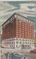 (W)  Montgomery, AL - Jefferson Davis Hotel - Street Corner View - 10/28/1952