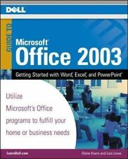Dell Ms Office 2003