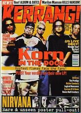 Korn on Kerrang Cover 1998    Nirvana   Famous Monsters   Dave Grohl
