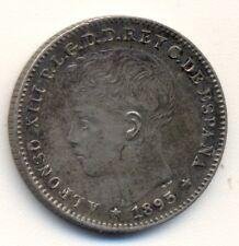 PUERTO RICO 1895 20centavos, XF