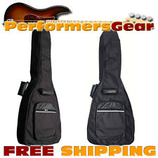 Perfektion Deluxe Heavy Duty Dreadnought Acoustic Guitar 10mm Padded Gig Bag NEW