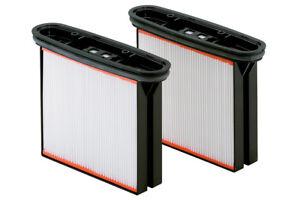 2 Stück Polyester Filter für Industriesauger Metabo, Bosch, Eibenstock, Starmix