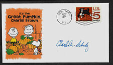 1966 It's The Great Pumpkin Charlie Brown Featured on Collector's Envelope *1019