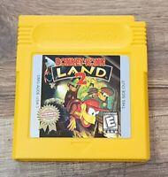 Donkey Kong Land 2 Nintendo Game Boy Authentic Tested