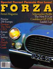 Forza Magazine Summer 1996 #2 - Ferrari, Michael Schumacher, Daytona 24 hours