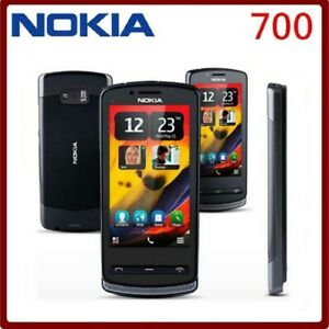 Original Nokia 700 3G WIFI GPS 5MP Unlocked Mobile Phone 3.2 in Touchscreen