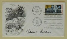 s1218) Raumfahrt Space USA FDC Mondlandung Apollo 11 - Autopen Michael Collins