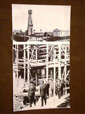 Fascismo in Italia Duce Mussolini cantiere di Carpaneto negli anni '30 petrolio