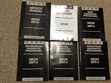 2005 Dodge Neon SRT-4 Shop Service Repair Manual SET W Diagnostics + Wiring Diag