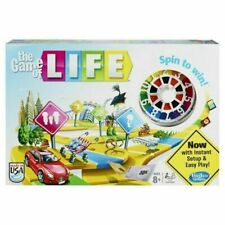 The Game Of Life Board Game Family Hasbro Gaming Ages 8 And Up, 2-4 Players NEW