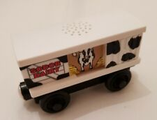 Thomas The Tank Engine & Friends WOODEN COW CAR WITH SOUND TRUCK WOOD