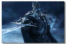 """World of Warcraft Game Online Silk Wall Poster Picture Decor 24""""x36"""" MOP050"""