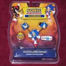 SEGA SONIC THE HEDGEHOG EARBUDS HEADPHONES USA TOYS R US EXCLUSIVE OUT OF PRINT
