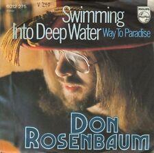 Vinyl Single : Don Rosenbaum - Swimming into deep water / Way to paradise