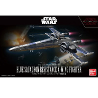 Bandai Star Wars BLUE SQUADRON RESISTANCE X-WING FIGHTER 1/72