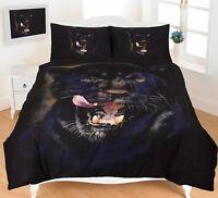 New Animal Print Duvet Cover Set King Size Double Single Super Bedding Designer