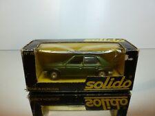 SOLIDO 76 SIMCA HORIZON - GREEN METALLIC 1:43 - VERY GOOD IN BOX