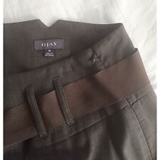 Ojay Midi Skirt -Charcoal - Size 10