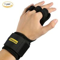 Crossfit Grips  Nylon Palm Protectors Gymnastic Hand Guard Gym Gloves pull ups