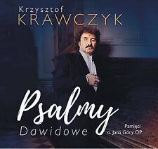 KRZYSZTOF KRAWCZYK - Psalmy Dawidowe [CD] 2017