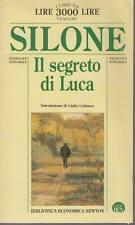 IL SEGRETO DI LUCA - IGNAZIO SILONE   ED. NEWTON