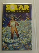 Solar Man of the atom 1 Signed Remarked Jim Shooter Barry Windsor Smith Don Perl