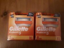 16 gillette fusion 5 replacement   razor blades