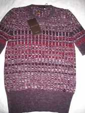 New With Tag Gucci Women's Short Sleeve Sweater Knit Top Size Large $795.00