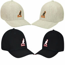 KANGOL 100% Authentic 3D WOOL FLEXFIT BASEBALL Hat - 5128BC