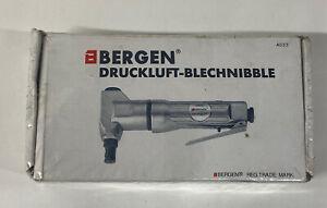 BERGEN COMPRESSED AIR  NIBBLER METAL ALUMINIUM SHEET CUTTER BODY REPAIR TOO;L