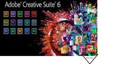 Adobe CS6 Master Collection Creative Suite Englisch Win Vollversion