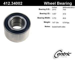For BMW 525i  Pontiac GTO Rear Set of 2 Wheel Bearing Centric Parts 412.34002