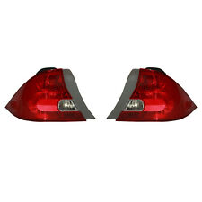 NEW PAIR OF TAIL LIGHTS FIT HONDA CIVIC COUPE 2001-2003 33501S5PA01 HO2800134