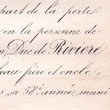 Charles Antoine Adrien De Riviere Paris 1870 Duc