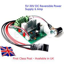 5V-30V - 6 A-Reversible-DC Motor Controlador De Velocidad Pwm Arduino-Raspberry Pi