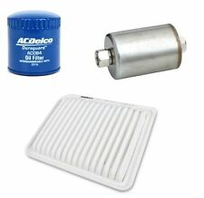 OIL FUEL & AIR FILTER KIT FORD TERRITORY 4.0l petrol AcDelco New OE level