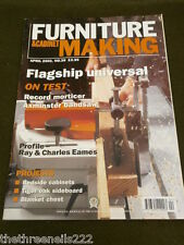 FURNITURE & CABINETMAKING - TIGER OAK SIDEBOARD - APRIL 2000