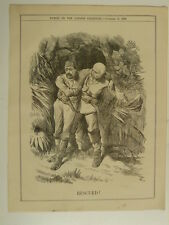 PUNCH cartoon 1889 RESCUED
